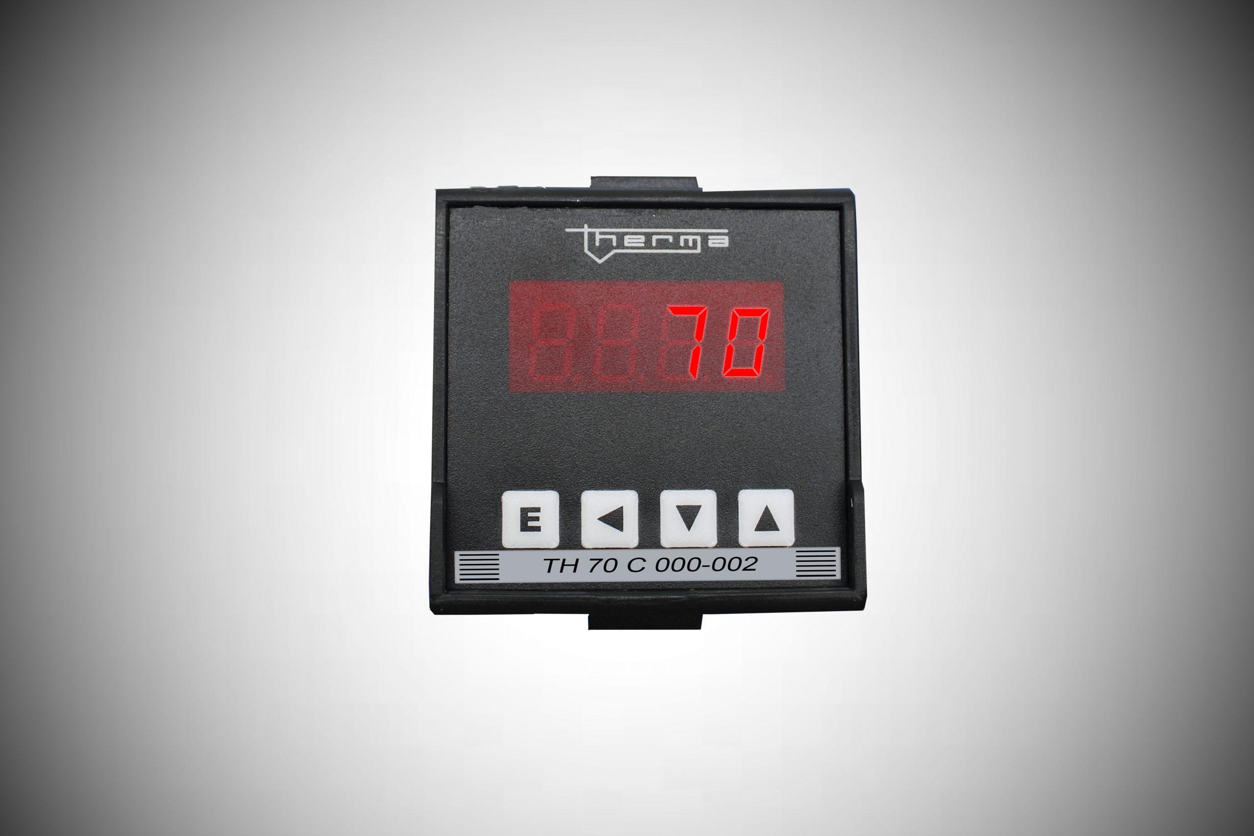Indicador Microprocessado de Temperatura e Processos série C