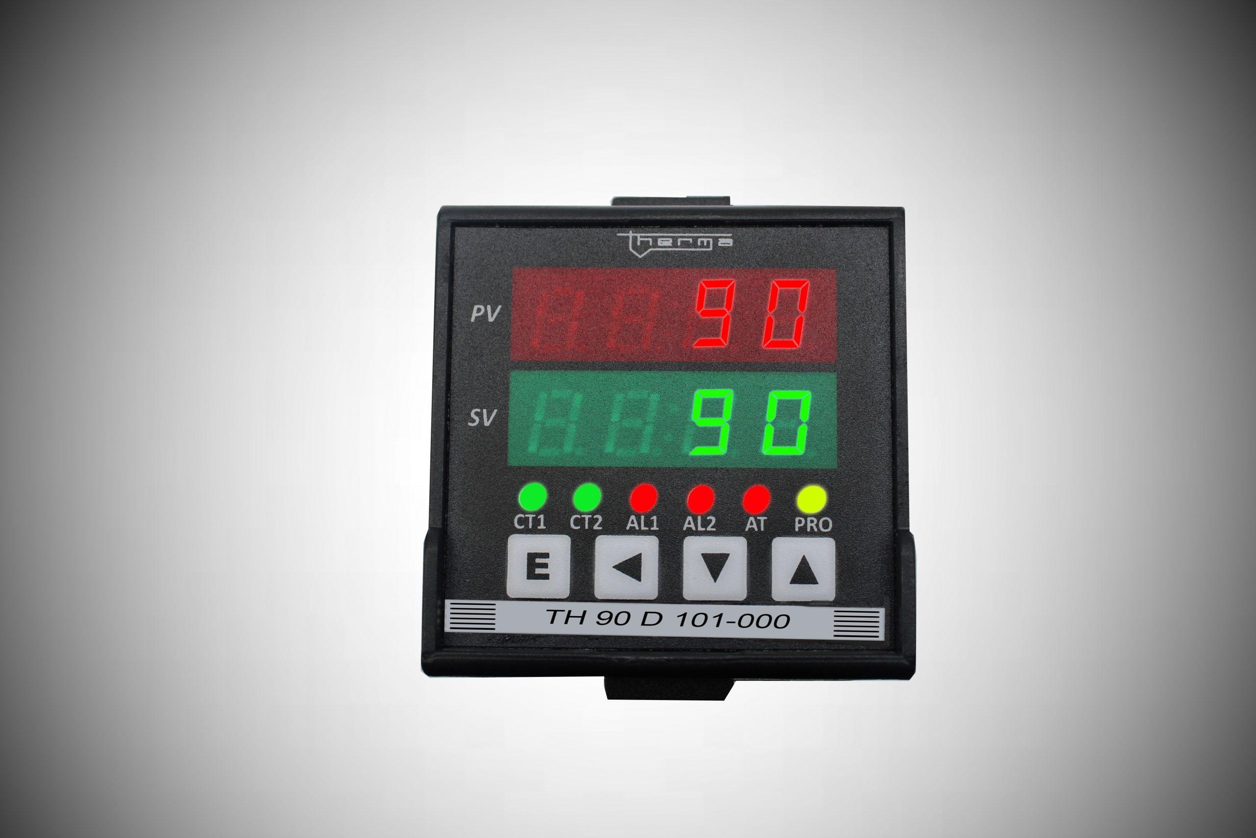 Controladores Microprocessado de Temperatura e Processos Série D