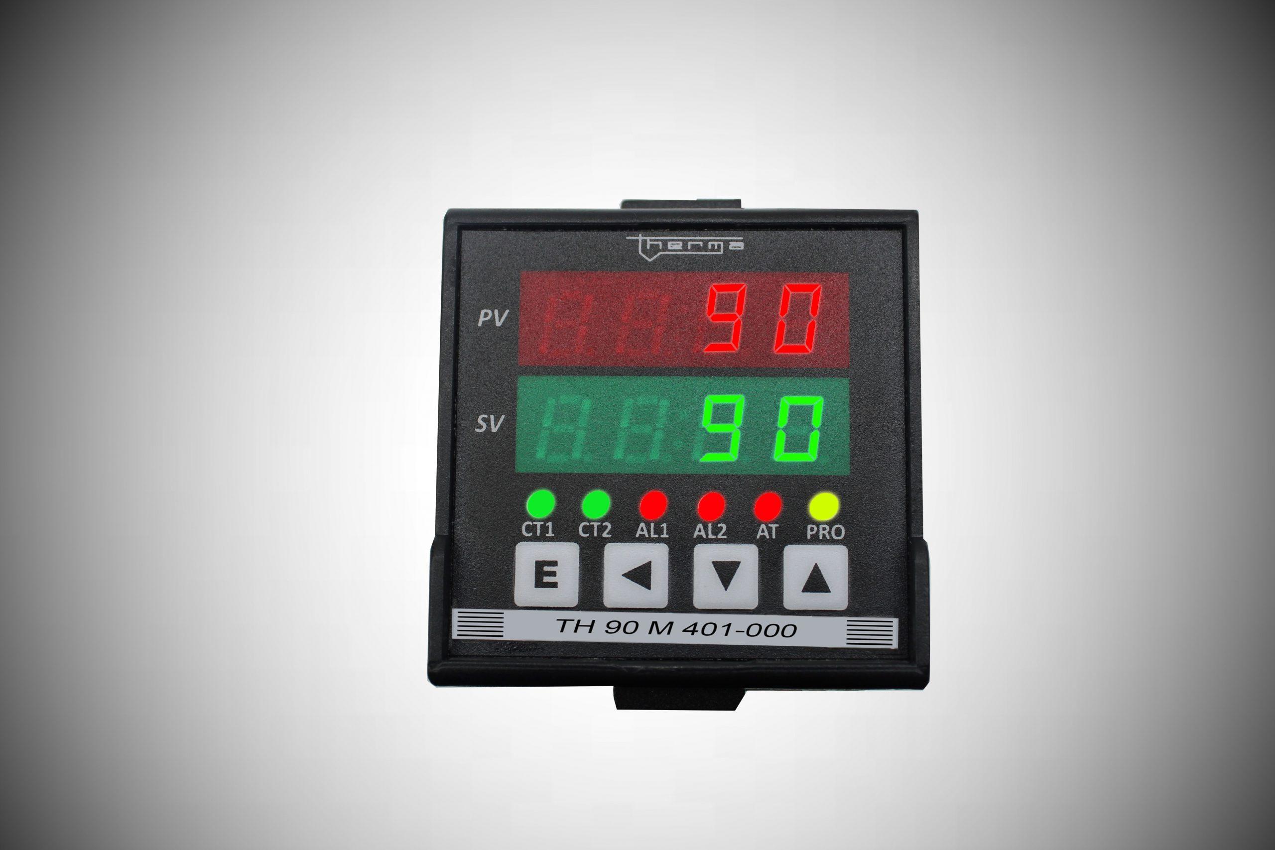 Controladores Microprocessado de Temperatura e Processos Série M