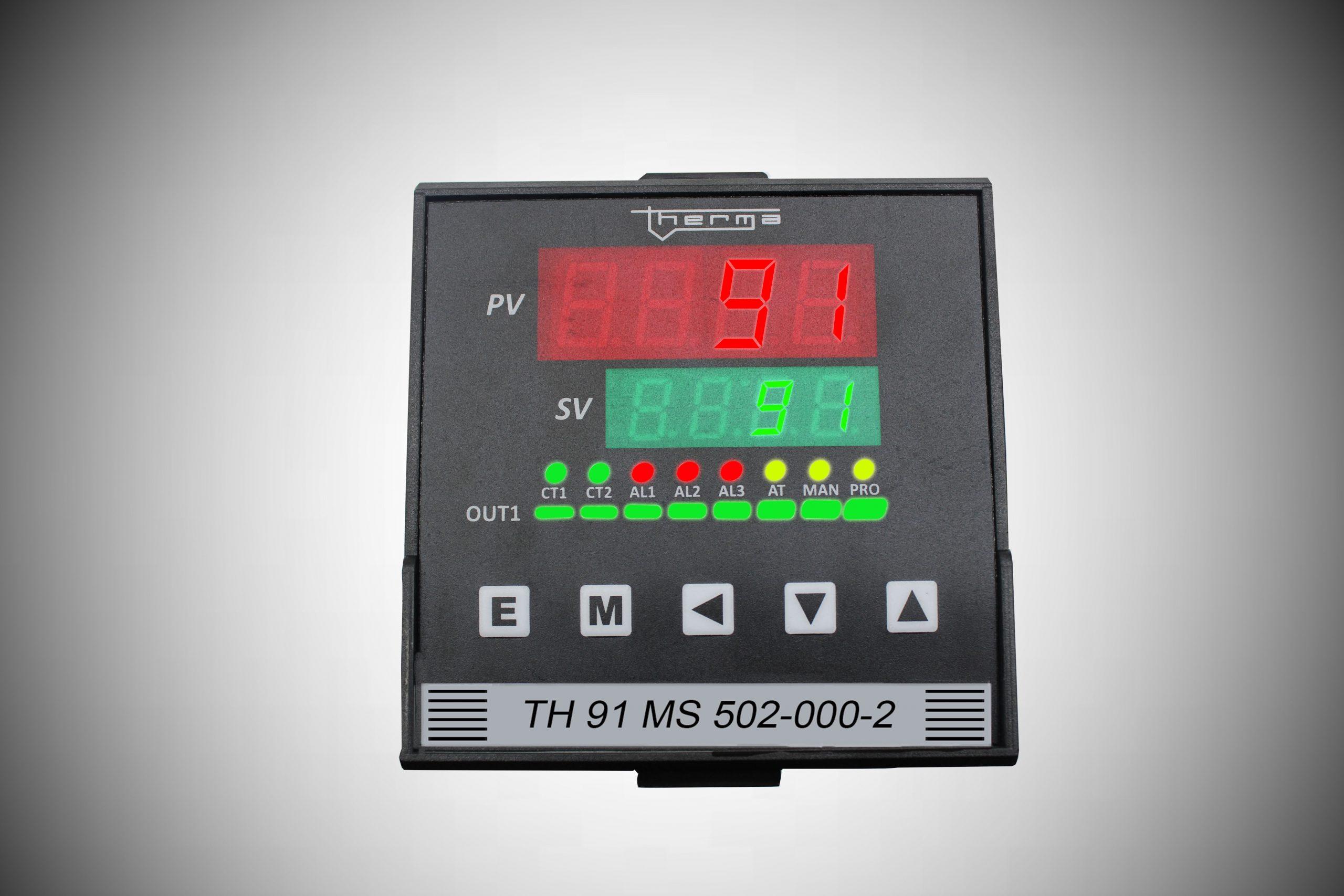 Controladores Microprocessado de Temperatura e Processos Série MS