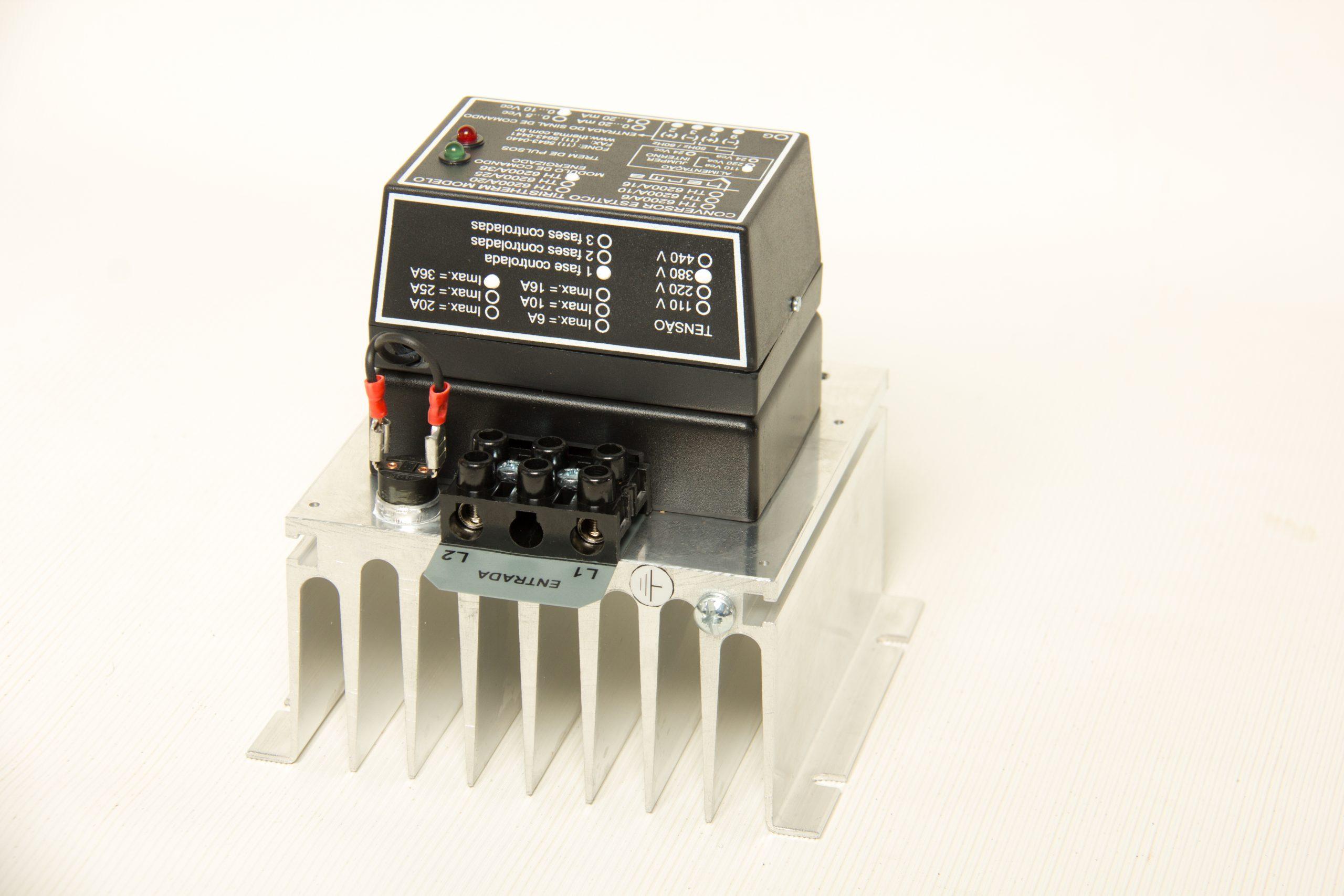 Controlador de potência TH 6200 Analógico