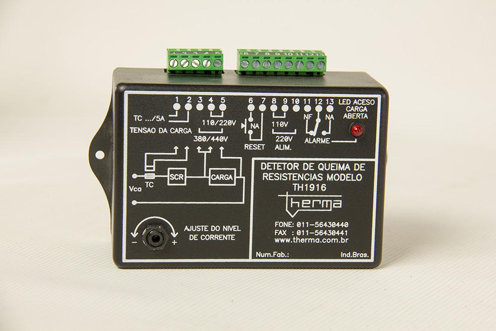 Detector de Queima de Resistência