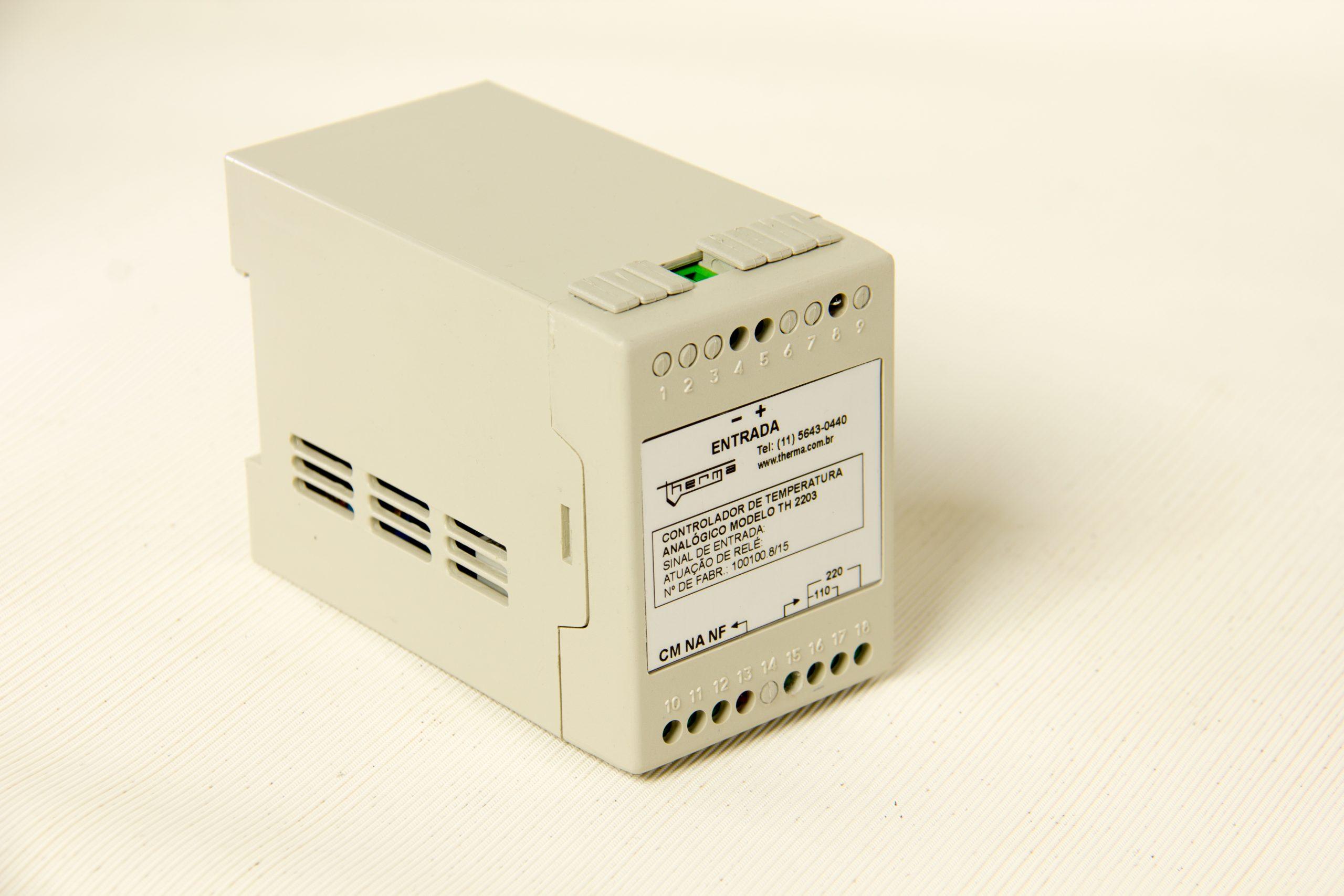 Controlador de Temperatura com Set-Point Fixo