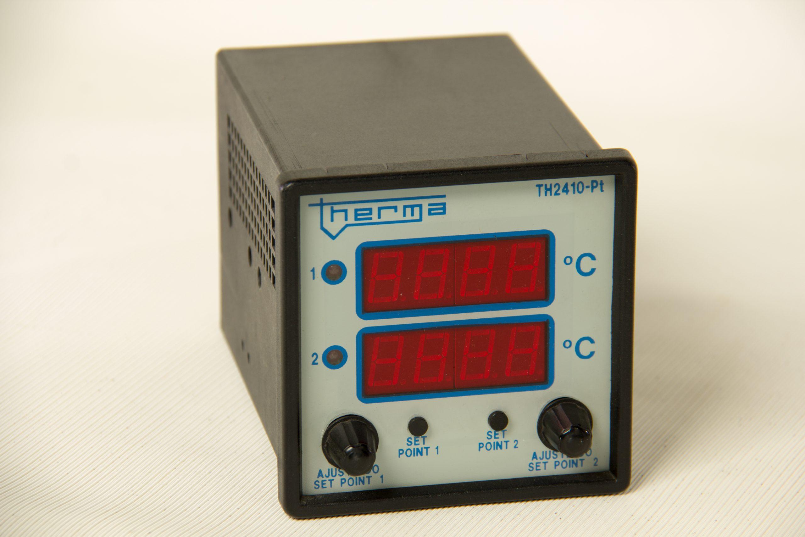 Controlador e Indicador de Temperatura Econotherm