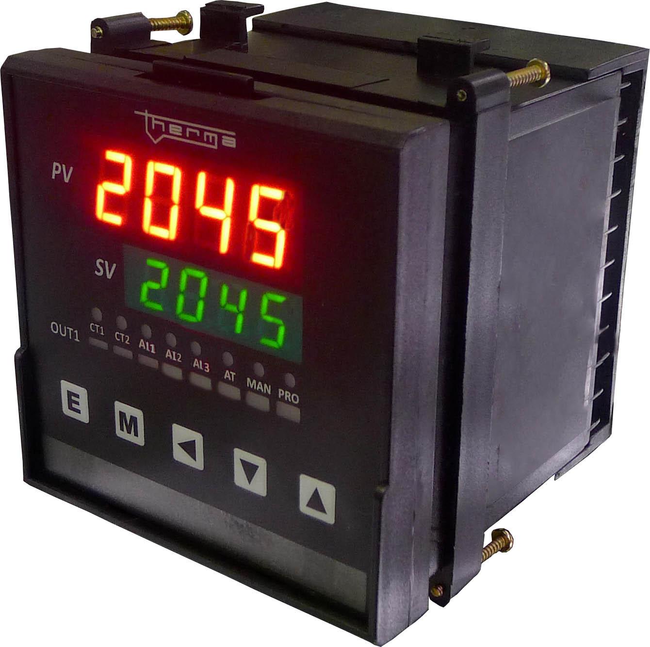 Controlador de Temperatura e Percentual de Carbono TH 2045