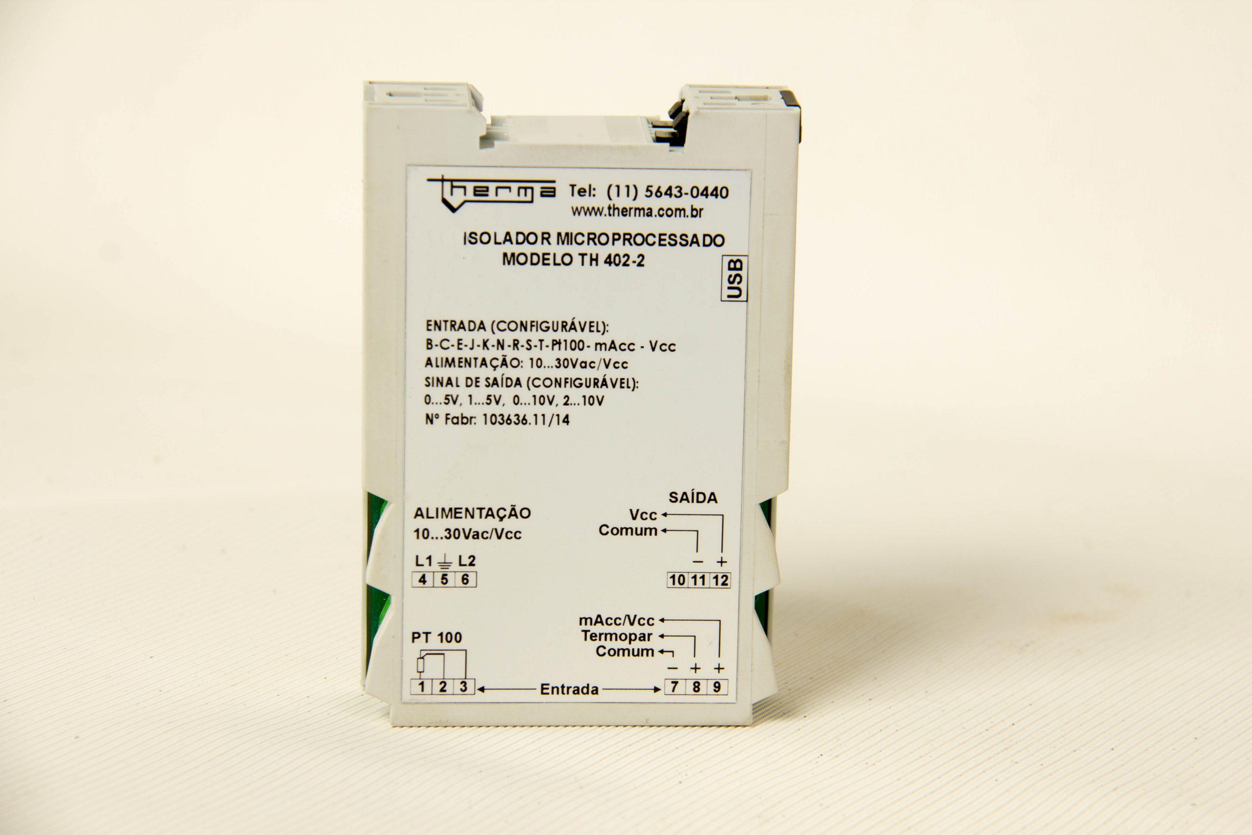 Isolador Microprocessado de Sinal