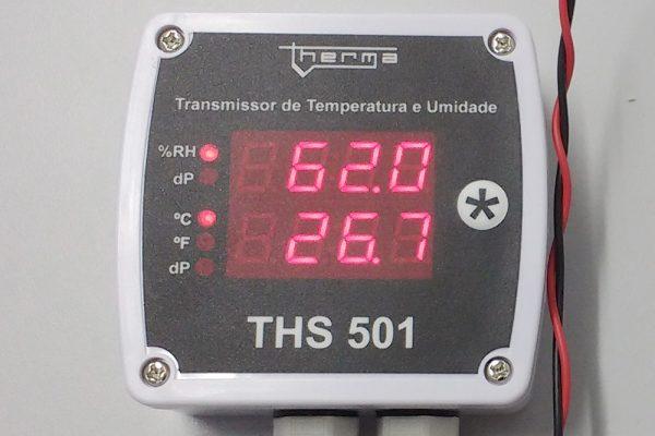 Transmissor de Umidade e Temperatura THS 501